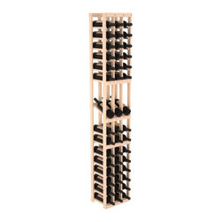 Wine Racks America - 3 Column Display Row Wine Cellar Kit in Pine, (Unstained) - Make your best vintage the focal point of your wine cellar. High-reveal display rows create a more intimate setting for avid collectors wine cellars. Our wine cellar kits are constructed to industry-leading standards. You'll be satisfied. We guarantee it.