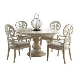 Summer Home Round Dining Table
