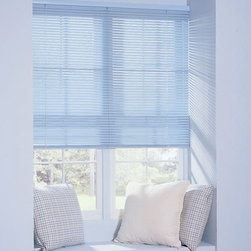 "Levolor - Levolor Riviera Classic 1-inch 8-Gauge Metal Blinds - The Riviera is the ultimate range of aluminum blinds, including the 1/2"" sleek micro size, the 1"" standard and the popular 2"" Classic size."