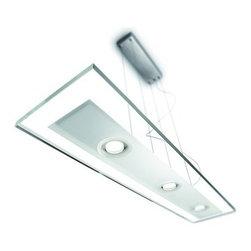 Philips - Philips 47346 Vidro 3 Light LED Island / Billiard Fixture - Features: