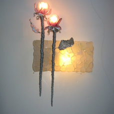 Eclectic Wall Sconces by Malibu Market and Design