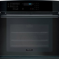 "Electrolux - IQ-Touch Series EI30EW35KB 30"" Single Electric Wall Oven with 4.2 cu. ft.  3rd E - The Electrolux EI30EW35 30 Single Electric Wall Oven will satisfy your every need With an amazing42 cu ft capacity you will be able tocook large items or large quatities of other dishesFeaturing3rd Element Convection Oven andSelf-Cleaning 7 Cooking M..."