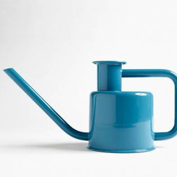 X3 Watering Can, Blue - Because my outdoor plants deserve a little refreshment while my guests and I dine alongside them. This is the cutest watering can I've ever seen!