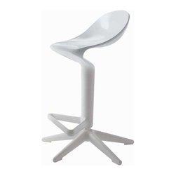 Kartell - Spoon Adjustable in Height Chair - Spoon Adjustable in Height Chair