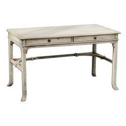 Uttermost - Uttermost Bridgely Aged Writing Desk - 25602 - Uttermost's Accent Furniture Combines Premium Quality Materials with Unique High-style Design.