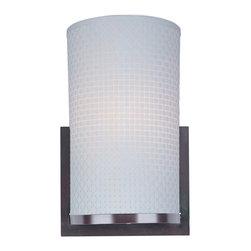 ET2 - ET2 E95184-100OI Elements 1-Light Wall Sconce - ET2 E95184-100OI Elements 1-Light Wall Sconce
