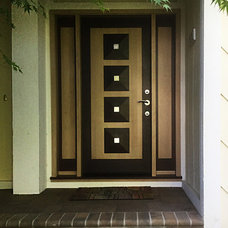 Contemporary Entry by Antigua Doors
