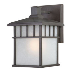 Dolan Designs - Dolan Designs 9117 One Light Outdoor Wall Sconce from the Barton Collection - Craftsman / Mission Single Light Large Outdoor Wall Sconce from the Barton CollectionThis quaint Barton outdoor wall sconce brings lantern styling to wall lighting. Its traditional mission styling gives it a beautifully cozy feel.Features: