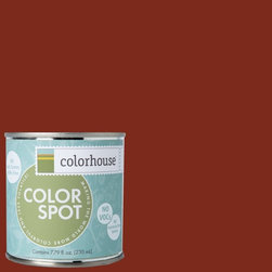 ColorSpot Eggshell Interior Paint Sample, Wood .03,  8-oz - Test color before you paint with the Colorhouse Colorspot 8-oz  paint sample. Made with real paint and in our most popular eggshell finish, Colorhouse paints are 100% acrylic with NO VOCs (volatile organic compounds), NO toxic fumes/HAPs-free, NO reproductive toxins, and NO chemical solvents. Our artist-crafted colors are designed to be easy backdrops for living.