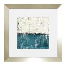 """Chroma Horizons Framed Artwork by Bassett Furniture - H 28"""", W 28"""", D 0"""""""