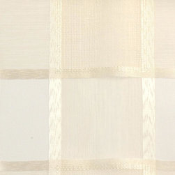 Sheers/Casements - Wide Width - Marble Fabric - 100% Polyester. Made in TURKEY.