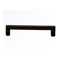 "Top Knobs - Aspen Flat Sided Pull - Mahogany Bronze (TKM1368) - Aspen Flat Sided Pull 6"" (c-c) - Mahogany Bronze"