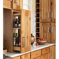 Oil and Vinegar Storage -