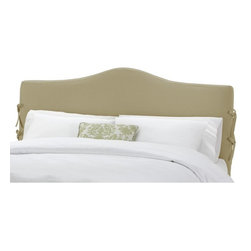 Skyline Furniture - Slipcover Duck Upholstered Headboard - 470SL-T-DUCK-BROWN - Shop for Headboards and Footboards from Hayneedle.com! Update your bedroom with a minimum of fuss with the Skyline Slipcover Headboard. Available in a range of fabrics and colors to match any decor this headboard features a classic design and adjustable height from 51 to 56 inches. It is available in a variety of sizes to match any bed. Some assembly required. About Skyline Furniture Manufacturing Inc.Skyline Furniture was founded in 1948 with the goal of producing stylish affordable quality furniture for the home. After more than 50 years this family-run business is still designing and manufacturing unique products that meet the ever-changing demands of the modern home furnishing industry. Located in the south suburbs of Chicago the company produces a wide variety of innovative products for the home including chairs headboards benches and coffee tables.