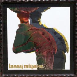 Rupert Jasen Smith, Issey Miyake, Screenprint - Artist:  Rupert Jasen Smith, American (1953 - 1989)