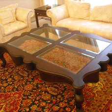 Traditional Coffee Tables by benaish omer zuberi