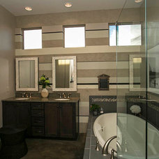 Eclectic Bathroom by Insight Homes, Inc.