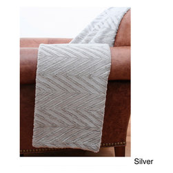 Thro - Elissa Faux Fur Throw Blanket - Bring a stylish touch to your home with the Elissa faux fur reversible throw blanket. Super soft and cozy, this gorgeous throw is machine washable for easy care and repeated use. Available in a variety of colors that will complement your current decor.