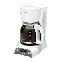 SUNBEAM RIVAL - 12-Cup Programmable Coffeemaker - Feature: