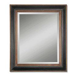 Uttermost - Uttermost 07023 B Fabiano Black Wood Mirror - Uttermost 07023 B Fabiano Black Wood Mirror