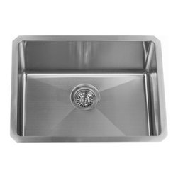 "Miseno - Miseno 23"" Undermount Single Basin Stainless Steel Kitchen Sink 16G - Included Free with Your Miseno Sink:"