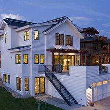 Farmhouse  by Kelly & Stone Architects
