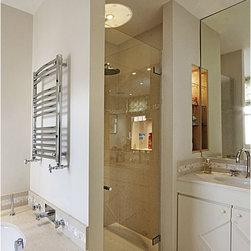 Frameless Glass Shower door - Custom frameless shower enclosure.
