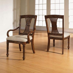 Broyhill - Sunset Pointe Dining Arm Chair (Set Of 2) - 4590-580 - Hardwood Solids & Cherry Veneers