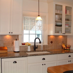 Somerset Kitchen - Full kitchen remodel which required ingenuity as the space was small and difficulty to work.
