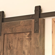 Contemporary Barn Door Hardware by Rustica Hardware