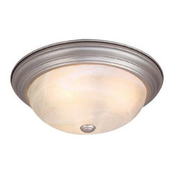 Vaxcel Lighting - Vaxcel Lighting CC25111 Saturn 2 Light Flush Mount Ceiling Fixture - Features: