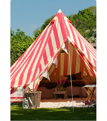Modern Gazebos by The Glam Camping Company
