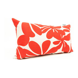 Majestic Home - Outdoor Red Plantation Small Pillow - Add a splash of color and a little texture to any environment with these great indoor/outdoor plush pillows by Majestic Home Goods. The Majestic Home Goods Small Pillow will add additional comfort to your living room sofa or your outdoor patio. Whether you are using them as decor throw pillows or simply for support, Majestic Home Goods Small Pillows are the perfect addition to your home. These throw pillows are woven from Outdoor Treated polyester with up to 1000 hours of U.V. protection, and filled with Super Loft recycled Polyester Fiber Fill for a comfortable but durable look. Spot clean only.