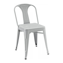 Modway Imports - Modway EEI-266-GRY Promenade Dining Side Chair In Gray - Modway EEI-266-GRY Promenade Dining Side Chair In Gray