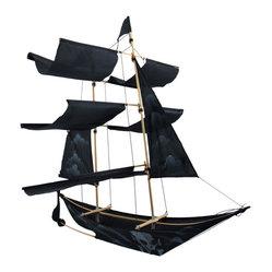 pirate ship kite instructions