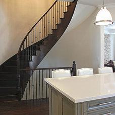 Contemporary Kitchen by Kate Davidson Design Inc