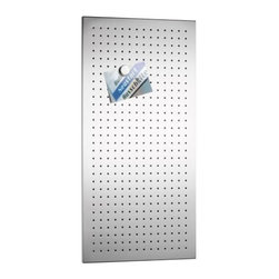 Blomus - MURO Perforated Magnet Board by Blomus - The Blomus MURO Perforated Magnet Board adds a note of crisp style while elegantly transforming unruly stacks of paper into organized quick-reads. The MURO Perforated Magnet Board features matte stainless steel. Magnets sold separately.Blomus, headquartered in Germany, specializes in the design and manufacture of beautifully engineered home and office accessories in modern stainless steel styles.The Blomus MURO Perforated Magnet Board is available with the following:Details:Made of stainless steelOptions:Size: 11.81 x 15.75 inch, 15.75 x 19.69 inch, 15.75 x 31.5 inch, 19.69 x 23.62 inch, or 23.62 x 35.43 inch.Shipping:This item usually ships within 2-3 business days.