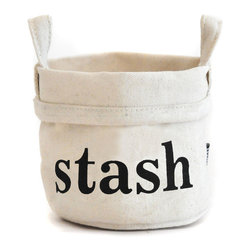 MAIKA - Recycled Canvas Bucket, 'Stash' - AS SEEN ON THE TODAY SHOW