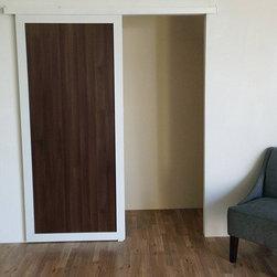 Wall Slides - Barn Doors - Open | Close Doors