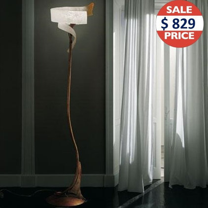 mediterranean floor lamps by Lights On