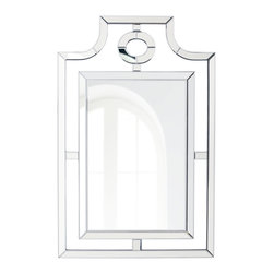 Horchow - Pagoda-Shaped Mirror - I love this beautiful pagoda-style mirror for its interesting shape. I would use it in an entryway or a bathroom for some modern Asian flair.