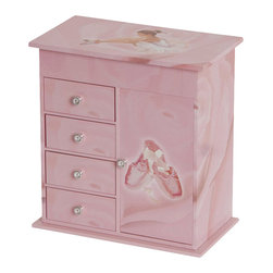 Mele Jewelry - Mele and Co. Callie Girl's Musical Ballerina Jewelry Box - Mele Jewelry - Jewelry Boxes - 00830S12