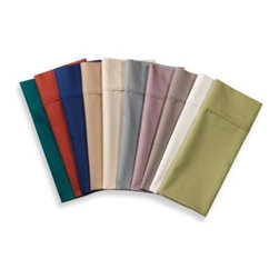 Microtouch - MicroTouch Sateen Sheet Set - These classically styled sheets offer luxurious comfort combined with modern convenience. The cotton blended sheets are naturally wrinkle free wash after wash and dry quickly, letting you get them back on your bed for continued comfort.