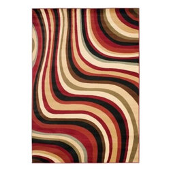Safavieh - Safavieh Area Rug: Porcello Red/Multi 8' x 11.2' - Shop for Flooring at The Home Depot. From mid-century abstract graphics and pop art florals to refined Renaissance damasks, Safavieh s Porcello collection unifies design through the ages with bold, vibrant color. The artistry of Safavieh weavers captures the texture of fine European and Oriental rugs in these Belgium-made power loomed rugs crafted of practical, long-wearing enhanced polypropylene.