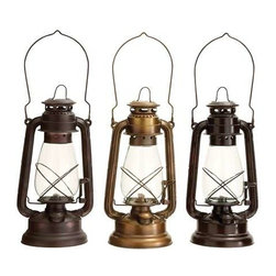 """BZBZ46696 - Lantern Assorted in Classical Style - Set of 3 - lantern Assorted in Classical Style - Set of 3. This Set of beautiful lanterns is sure to exude class and charm in the best possible way. It comes with the following dimensions: 6""""W x 6""""D x 13""""H. 6""""W x 6""""D x 13""""H. 6""""W x 6""""D x 13""""H."""