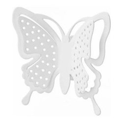 D'Oreille - Set of 2 Metal Wall Butterfly Pierce Holders, Modern Jewelry Organiz - An attractive way to store your earrings, chains, necklaces and other small essentials.