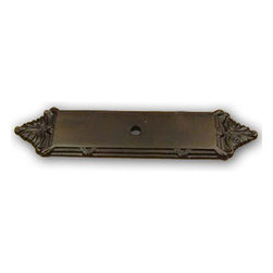 Century Hardware - Solid Brass - Backplate for Knob - Oil Rubbed Bronze (CENT16079-10B) - Solid Brass - Backplate for Knob - Oil Rubbed Bronze (CENT16079-10B)