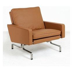 Modern Classics - Kjaerholm: PK31 Lounge Chair Reproduction - Features: