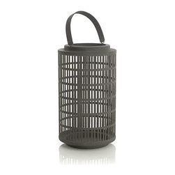 Cambria Medium Lantern - I love this lantern's tall, clean lines.