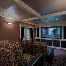 Living Room by Case Design/Remodeling, Inc.